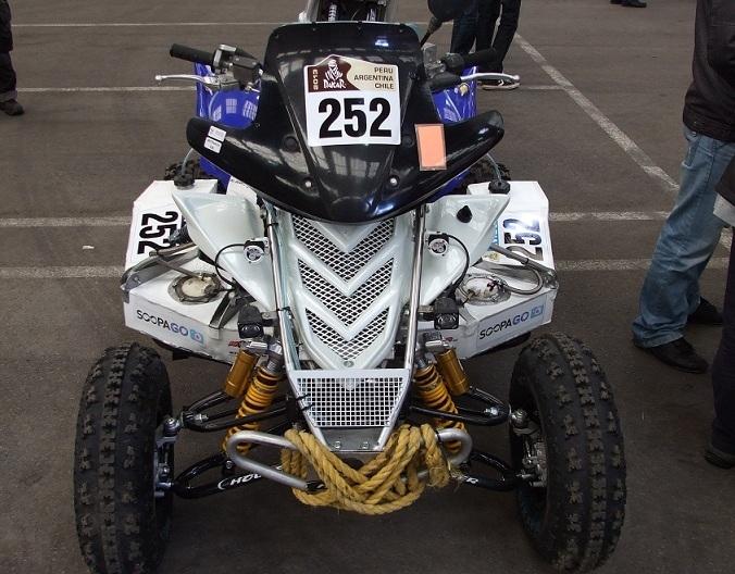 Dakar 2013 : Le quad de  Lukasz Laskawiec, l'anti-Patronelli !