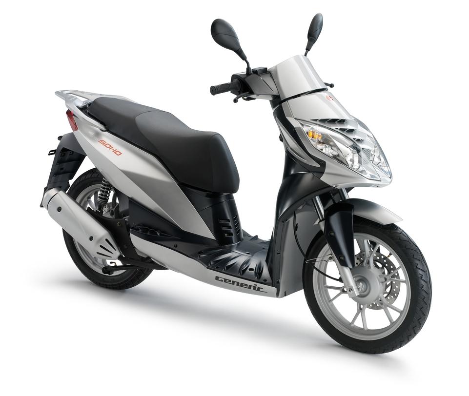 Generic Soho 125 cm3 : Un scooter atypique