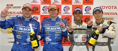 1000 km de Suzuka: Nissan et Sébastien Philippe à la fête