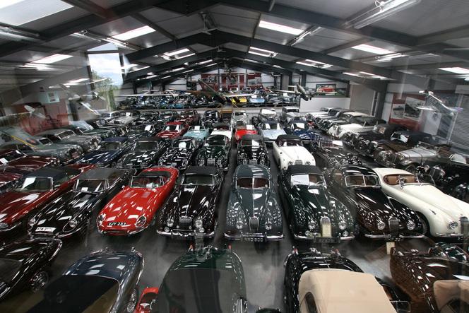 Jaguar rachète la plus grande collection automobile de Grande-Bretagne