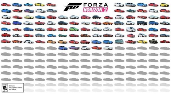 Forza Horizon 2 : une bonne partie des autos dévoilée