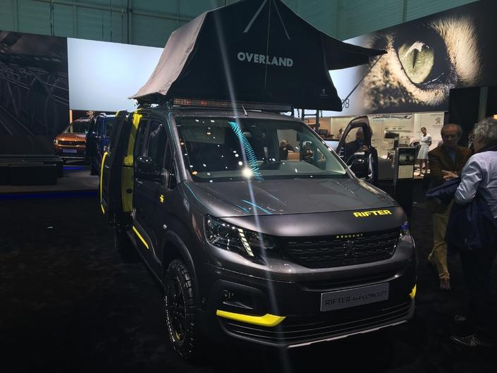 Peugeot Rifter 4x4 concept: pour l'exemple  - vidéo en direct du salon de Genève 2018