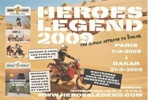 Héroes Légend 2009, c'est au mois de mars