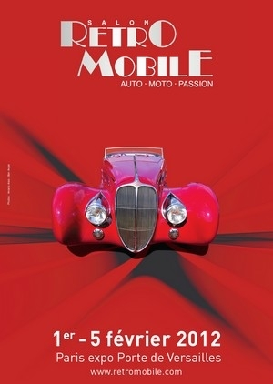 Rétromobile 2012 : « que vois-je à l'horizon ? Point de motos pour ce salon… ».