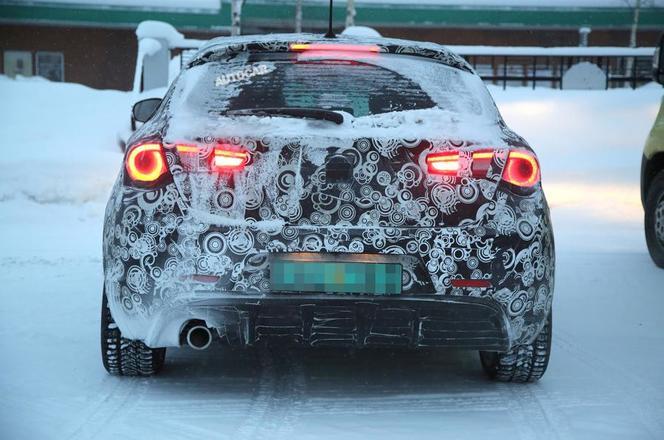 Alfa Romeo : le restylage de la Giulietta en préparation