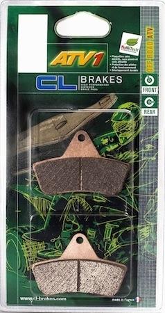 Plaquettes CL Brakes ATV1: pour quad