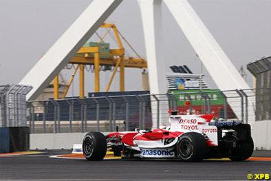 Formule 1 - Toyota: La quatrième place finale se profile
