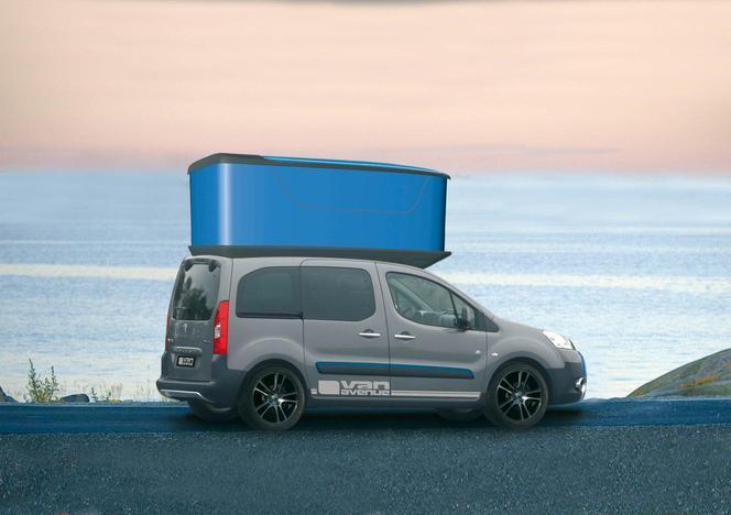 Salon de Genève 2012 - Peugeot Partner 'Urban Activity' vehicle par Irmscher