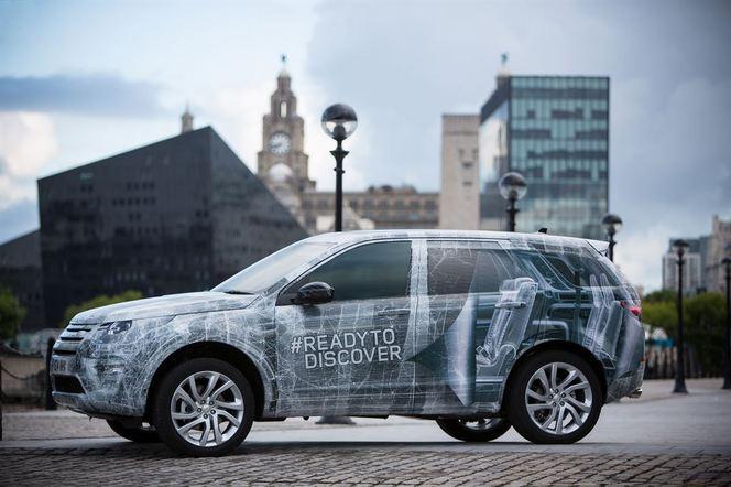 Mondial de Paris 2014 - Nouveau Land Rover Discovery Sport: 7 places pour se distinguer