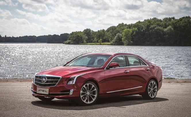 Rapid'news - Voici la nouvelle Cadillac ATS longue...