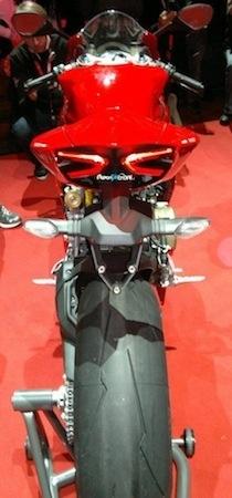 Ducati 1199 Panigale: photos volées