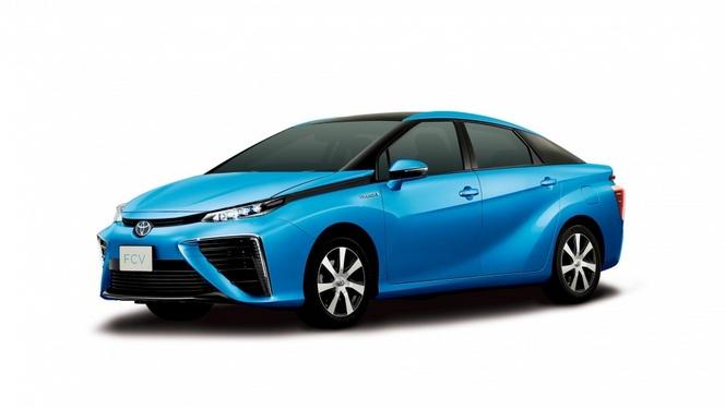La future Toyota à hydrogène baptisée Mirai ?