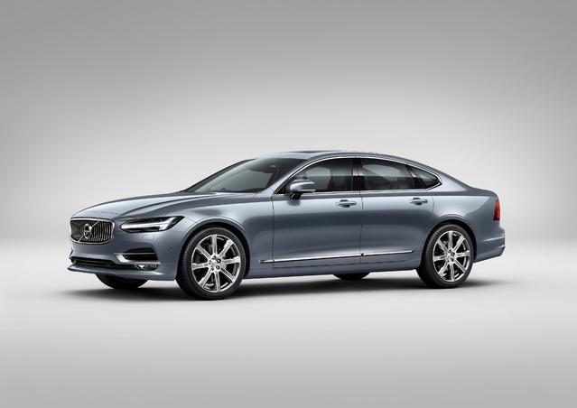 Salon de Genève 2016 - Volvo S90 : luxueuse