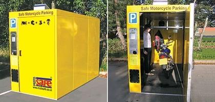 Motosafe : parking sécurisé
