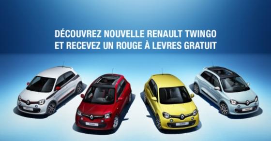 Les pubs délirantes de Renault Belux pour la Twingo (mise à jour)
