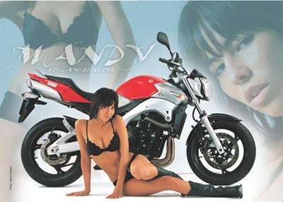 Moto & Sexy : Mandy et la GSR
