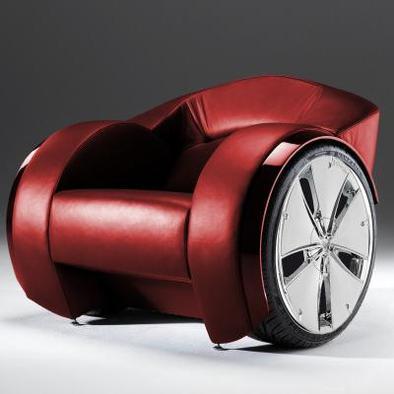 Le fauteuil à roues, de salon, et de luxe
