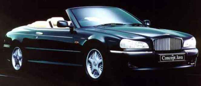 Les concepts Hunaudières et Java peuvent-ils servir de modèles à de futures Bentley?