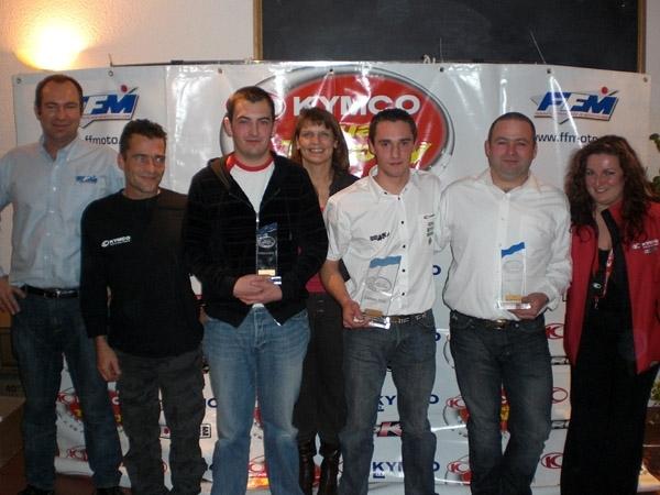 Finale du Kymco Quad Trophy 2008 : Le sacre de Nicolas Averty