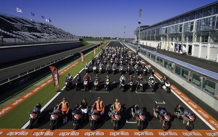 Aprilia Track Days: c'est reparti en 2018