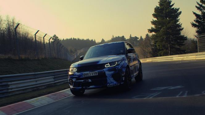 Ring Folies : le Range Rover Sport SVR en 8'14'' (ajout vidéo)