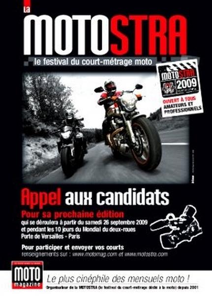9ième Motostra : A Paris dès le 26 Septembre 2009 et pour 10 jours…