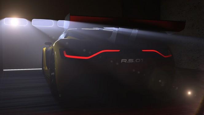 Salon de Moscou -Le concept Renault Sport R.S. 01 en mode teasing (+ vidéo)