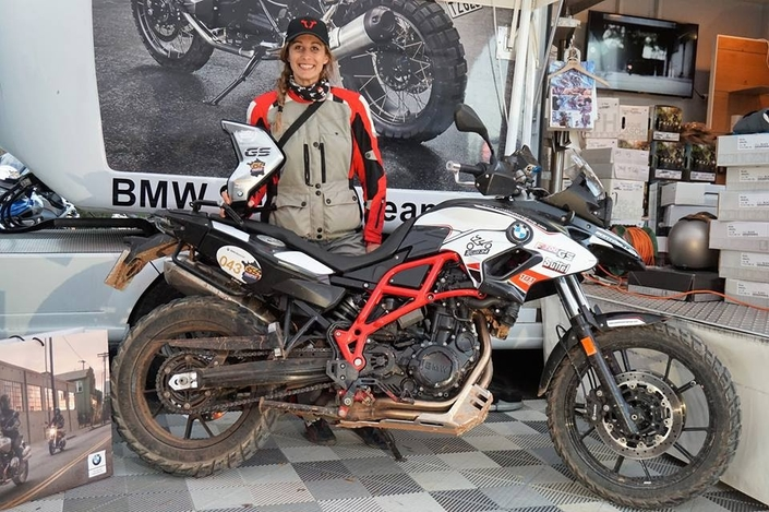 Moto Tour Series Tunisie 2018: Sonia Barbot en sera...