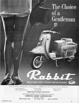Fuji Rabbit: Le premier avant Vespa