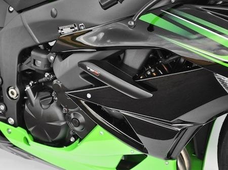 Top Block: nouveau kit de protection pour la Kawasaki ZX6R 2009-2012