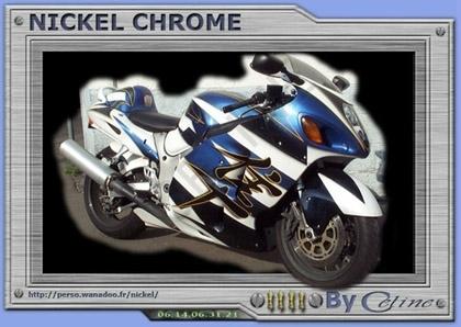 Nickel Chrome : Aérographie