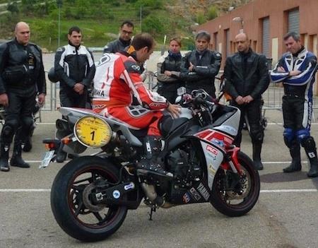 Écoles de pilotage sur piste avec Yamaha