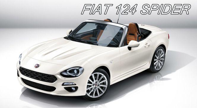 Calendrier des nouveautés 2016 – Cabriolets : Fiat 124, elle revient !