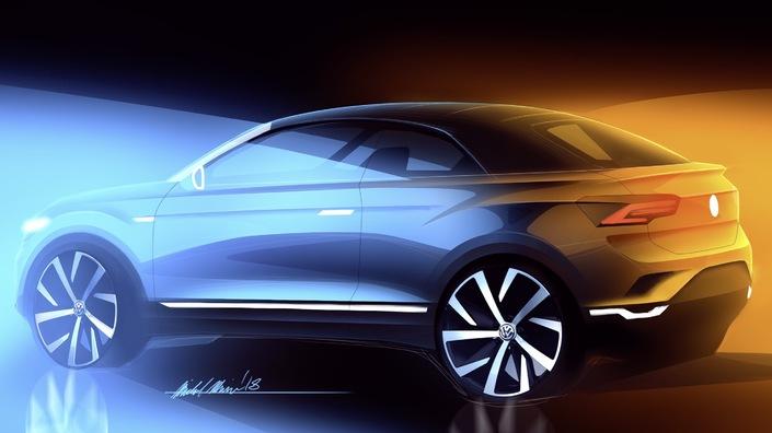 Officiel: Volkswagen va lancer un T-Roc cabriolet