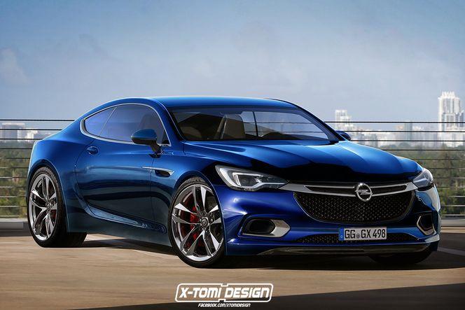 Design : et si l'Opel Calibra revenait ?