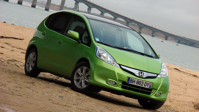 Photo honda jazz prix ecologique