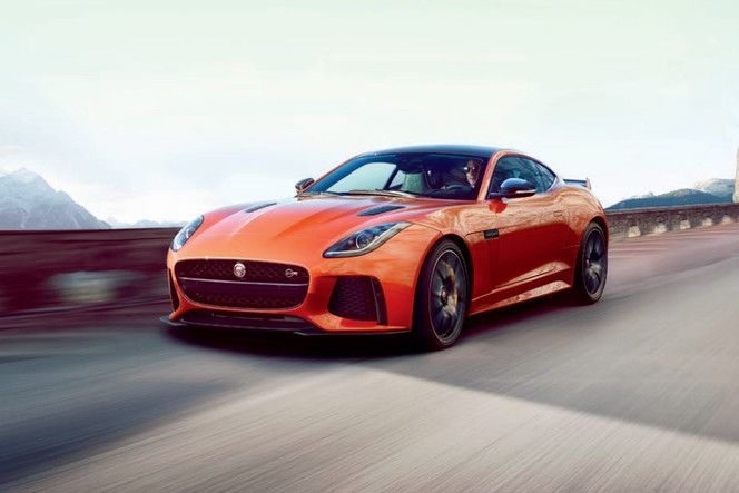 Jaguar : la F-Type en mode SVR