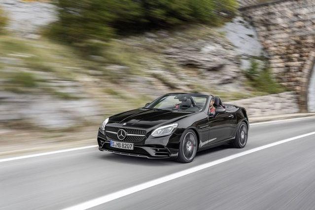 Salon de Genève 2016 - Mercedes SLC : fin du cas SLK
