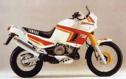Vingt ans déjà, la Yamaha Super Ténéré