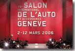 Salon de Genève 2006 : les premières indiscrétions