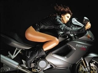 Moto & Sexy : ma chouchoute