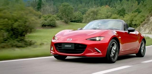 La Mazda MX-5 élue voiture gay européenne de l'année