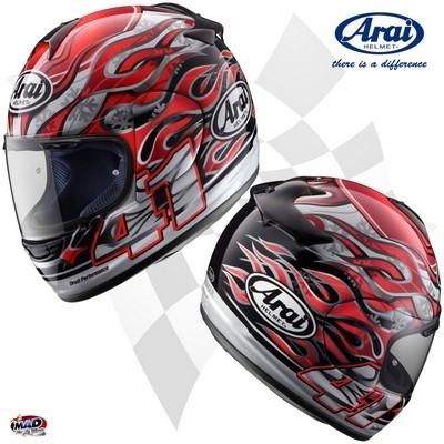 Nouveaux coloris 2009 pour le casque Arai Chaser