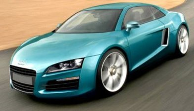 Future Audi R4 : baby R8 !