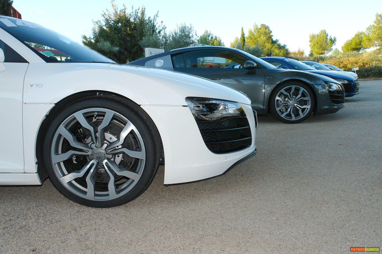 Essai Prestige : Audi Driving Expérience en R8 V10 sur le HTTT Paul