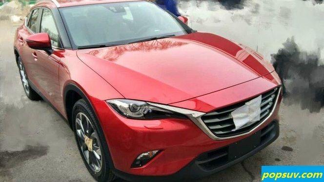 Mazda : le nouveau crossover se montre