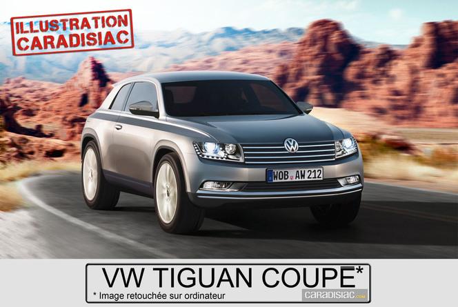 Volkswagen : un coupé Tiguan en 2015