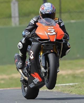 Superbike - Test Kyalami: Fabrizio domine