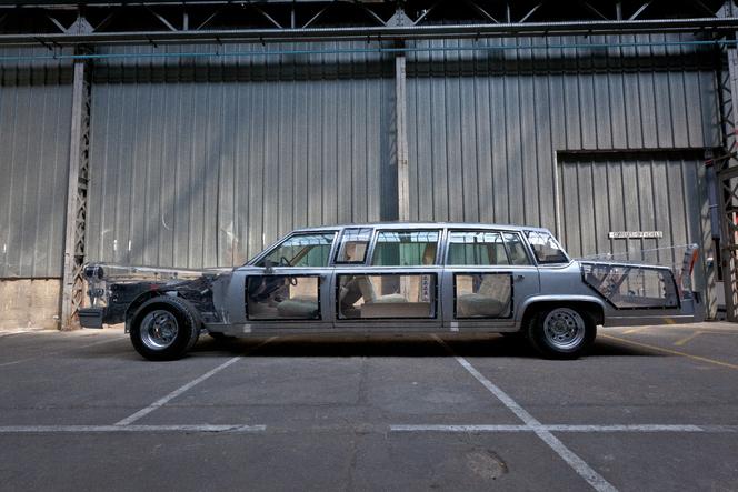 A bord de la limousine transparente de « L'Ecume des jours »