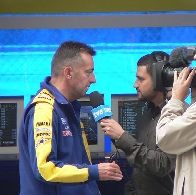 Moto GP - Honda: Hervé Poncharal est allé aux nouvelles pour l'IRTA